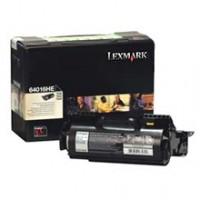 Lexmark 64016HE, Toner Cartridge- HC Black, T640, T642, T644- Genuine