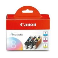 Canon 0621B026, Ink Cartridge Tri-Colour Multipack, Pixma iP3300, iP3500, iP4200, iP5100- Original