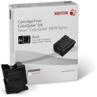 Xerox 108R00957 Solid Ink Sticks, ColorQube 8870 - 6X Black Genuine