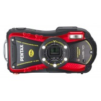 Pentax WG-10, Waterproof Digital Camera- Red