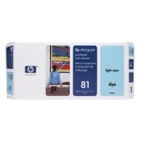 HP C4954A No.81 Light Cyan Printhead & Cleaner Genuine