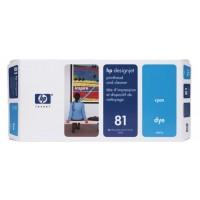 HP C4951A, No.81 Cyan Printhead & Cleaner, Designjet 5000, 5500- Original