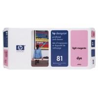 HP C4955A No.81 Light Magenta Printhead & Cleaner Genuine