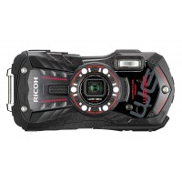 Ricoh WG-30, Waterproof Camera- Black