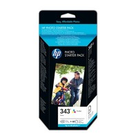 HP Q7948EE No.343 Photo Starter Pack Genuine
