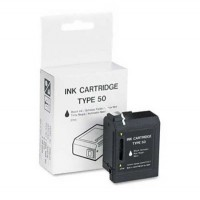 Ricoh 334238 Ink Cartrige Type 50, Black, Fax 800 - Genuine