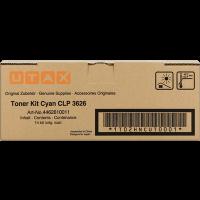 UTAX 4462610011, Toner Cartridge Cyan, CLP 3626, 3630- Original