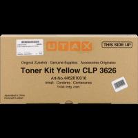 UTAX 4462610016, Toner Cartridge Yellow, CLP 3626, CLP 3630- Original