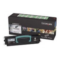 Lexmark 450H11E, Toner Cartridge- HC Black, E450- Genuine