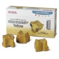 Xerox Phaser 8560 Solid Ink Sticks - 3 x Yellow Genuine (108R00725)