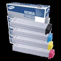 Samsung CLX-8380A, Toner Cartridge Multiple Pack, CLX-8380ND- Genuine