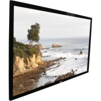 Elite R84WH1-BLACK EZ Frame Fixed Frame Projection Screen
