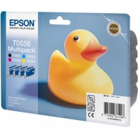 Epson T0556 Ink Cartridge - 4 Colour Multipack Genuine