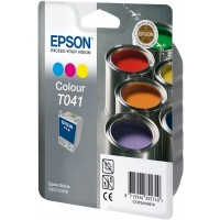 Epson T041 Ink Cartridge - Tri-Colour Genuine