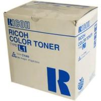 Ricoh 887908 Toner Cartridge Cyan, Type L1, AC6010, AC6110, AC6513 - Genuine