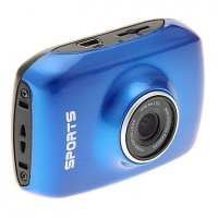 Pro HD Helmet Sport DV 1280 x 720,  Digital Video Waterproof Camera/ Camcorder- Blue