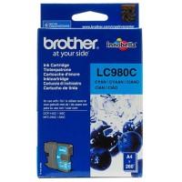 Brother LC-980C, Toner Cartridge Cyan, DCP-145C, 163C, MFC-250C, 295C- Original