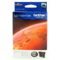 Brother LC1100HY-BK, Ink Cartridge HC Black, DCP-6690, MFC-5890, 5895, 6490, 6890- Original