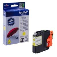 Brother LC225XLY, Ink Cartridge HC Yellow, DCP-J4120, MFC-J4420, J4620, J4625- Original
