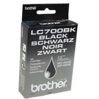 Brother LC700BK, Toner Cartridge Black, DCP-4020C, MFC-4820C- Original