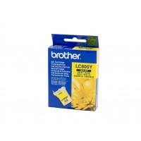 Brother LC800Y, Toner Cartridge Yellow, MFC-3220C, 3220C, 3420C, 3820CN- Original