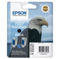 Epson T007 Ink Cartridge - Black Multipack Genuine