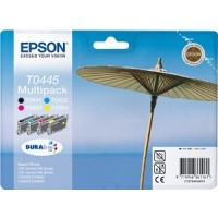 Epson T0445 Ink Cartridge - 4 Colour Multipack Genuine