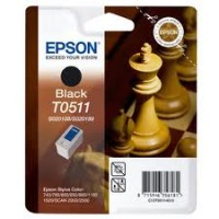 Epson T0511 Ink Cartridge - Black Genuine
