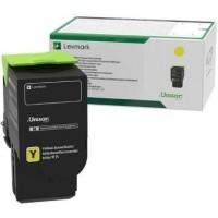Lexmark C232HY0, Return Program Toner Cartridge HC Yellow, C2325, C2425, C2535, MC2640- Original