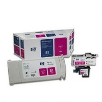 HP C4992A No.81 Magenta Printhead & Ink Cartridge Multipack Genuine