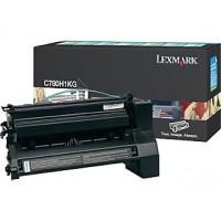 Lexmark C780H1KG, Toner Cartridge- HC Black, C780, C782- Original