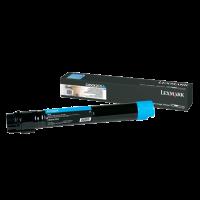 Lexmark C950X2CG, C950 Toner Cartridge - Cyan