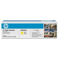 HP CB542A, Toner Cartridge- Yellow, CM1312, CP1215, 1217- Original