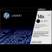 HP CF214X, 14X Toner Cartridge, LaserJet Enterprise 700 - HC Black Genuine