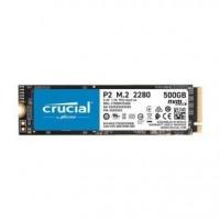 Crucial CT500P2SSD8, P2 M.2 500 GB PCI Express 3.0 NVMe