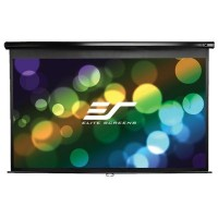 Elite M94UWX Manual Pull Down Projection Screen