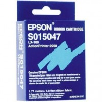 Epson S015047, Fabric Ribbon Black, Action Printer 2250, LX100- Original