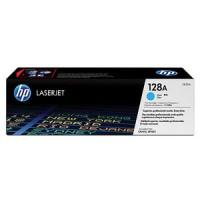 HP 128A CM1415, CP1525 Toner Cartridge - Cyan Genuine (CE321A)