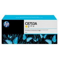 HP C8753A, Ink Cartridge Yellow, CM8050, CM8060- Original