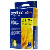 Brother LC1100Y, Ink Cartridge Yellow, DCP385, 395, 6690, MFC5895, 6490- Original