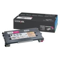 Lexmark C500S2MG Toner Cartridge, C500, X500, X502 - Magenta Genuine