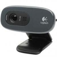 Logitech 960001063, C270 HD Webcam 720p/30fps, Widescreen HD Video Calling