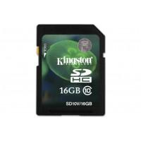 Kingston 16GB, SD SDHC Class 10 Memory Card for Ricoh WG-4 Camera