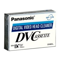 Panasonic Mini DV Head Cleaner Tape for Panasonic, JVC, Canon, Sony Camcorder