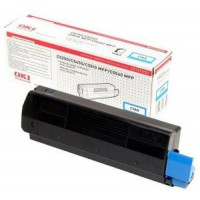 Oki 42127456 Toner Cartridge HC Cyan, Type C6, C5250, C5450, C5510, C5540- Genuine