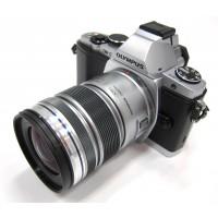 Olympus OM-D E-M5 Silver Camera + 12-50mm Lens