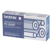 Brother PC-202RF, Ribbon Refill Roll Black x 2, MFC-1770, 1870, 1970- Original