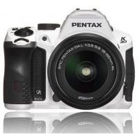 Pentax Imaging K-30 White Digital SLR Camera + 18-55mm WR Lens