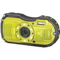 Ricoh WG-4, Waterproof Digital Camera- Yellow