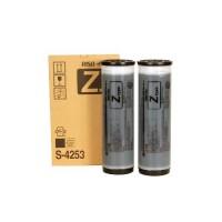Risograph S-4253E, Ink Cartridge Black x 2, RZ200, 230, 300, 370, 570- Original